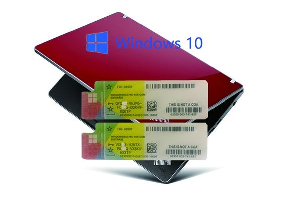 China Online Activate Operate System Win 10  product key Customised By MS factory