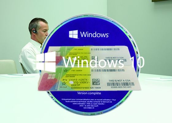 China Original win10 Home OEM Key 64 Bit DVD oem pack Genuine license Activation factory
