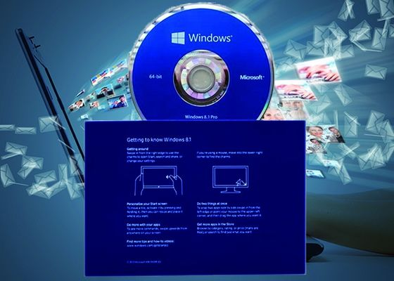 China Full Version Windows 8.1 Pro Pack OEM Multilingual Version 64Bit Systems Online Activate factory