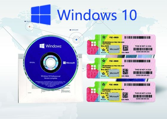 China Windows 10 Pro Genuine Product Key , License Retail Online Activation Key Code factory