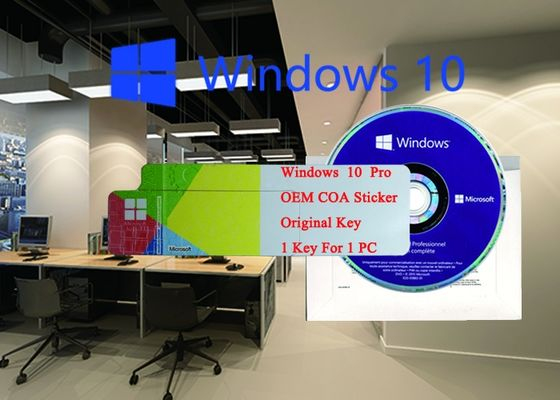 China Japanese Language COA Sticker Windows 10 Pro Online Activate brand new Licence Sticker factory