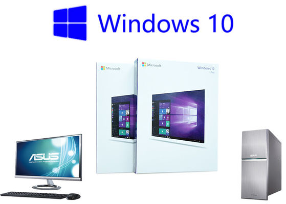 China Windows 10 Professional Retail Version Online Activation Italian Lifetime Warranty factory