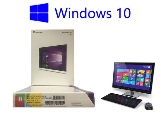 China Polish Windows 10 Pro Retail USB 3.0 64 Bit Original Key Card Online Activation Win 10 Home USB factory