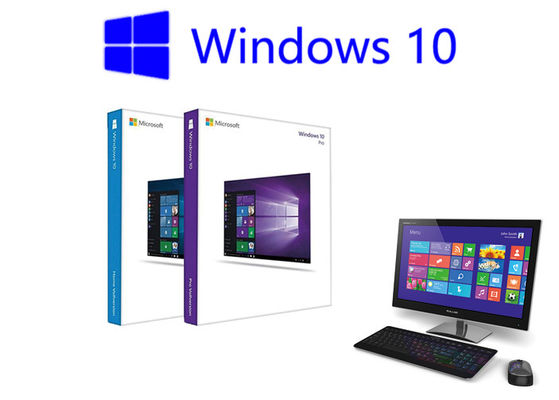 China Windows 10 Pro Retail Box Online Activation USB 3.0 Original Key Card Full Version Pack factory