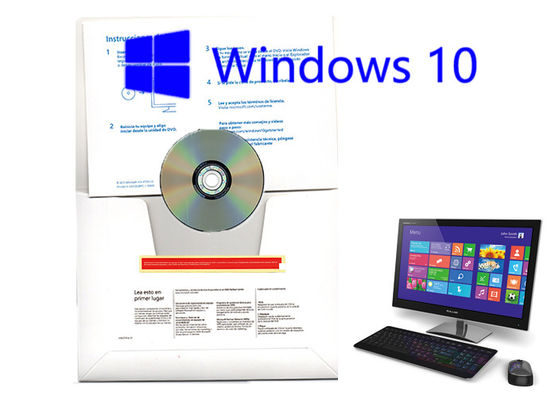 China Computer Software Windows 10 Pro OEM Sticker 64 Bit Key Professional With OEM Version Spanish factory