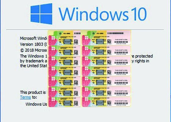 China Genuine Ms Win 10 Pro French Version Original For Option Support Fast Delivery factory