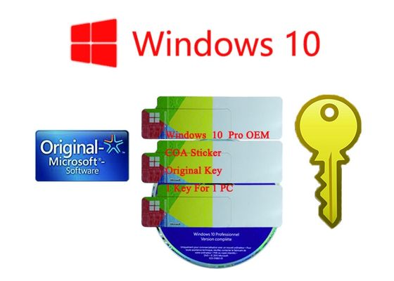 China Original Ms Win 10 Pro Korean Lifetime Legal Using 1 Year Stock Warranty Online Activation factory