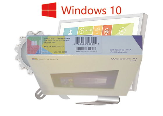 Online Activate Original Windows 10 Pro FPP Retail Box English Language 100% Genuine