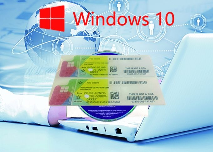 Full Version Win 10 Pro COA Sticker 64bit 100% Online Activate Operating System